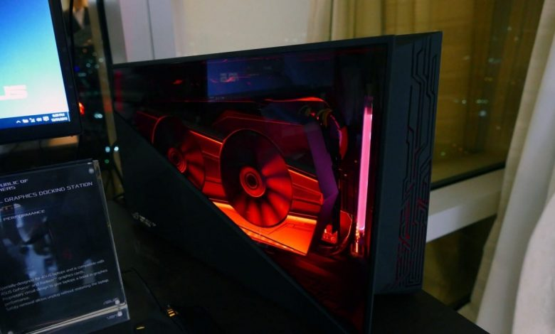 asus rog xg station 2 specs review
