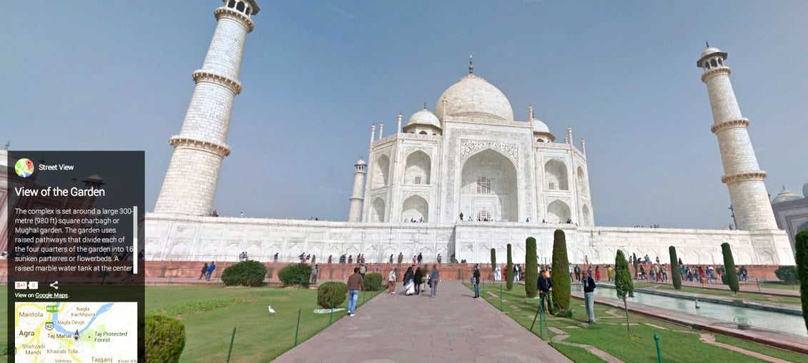 google street view india ban