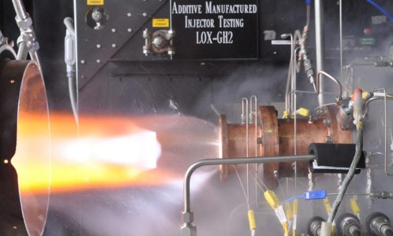 3D Printed Rocket Engine from NASA
