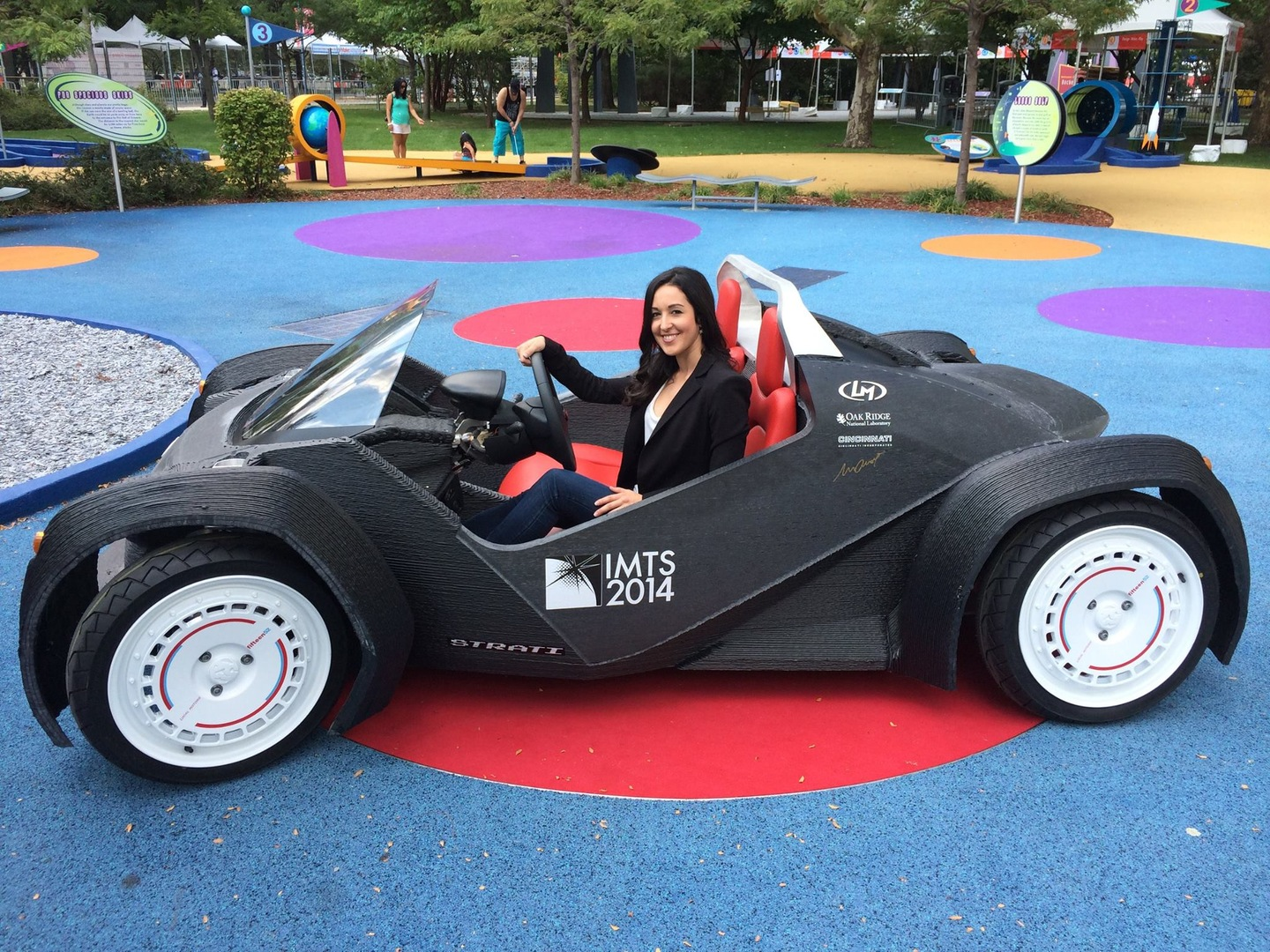 Local Motors Strati First 3D Printed Car 3