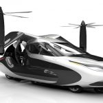 Terrafugia TF-X : The World's First Flying Hybrid Electric Car..