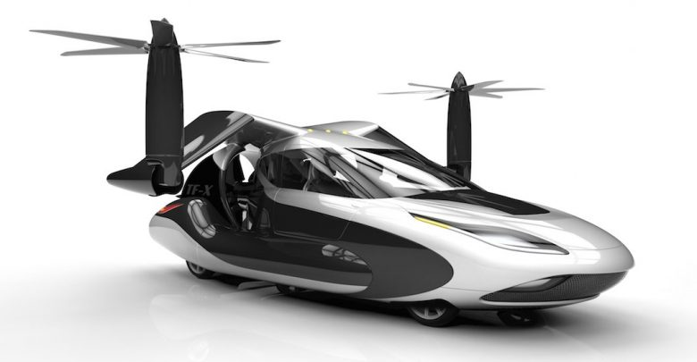 Terrafugia TF X Flying Hybrid Electric Car