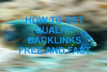 How to Get Quality Backlinks Free and Fast
