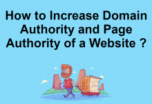 Photo of How to Increase Domain Authority and Page Authority of a Website ?